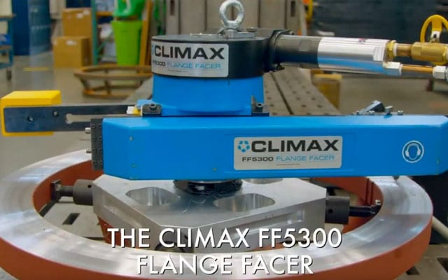 Flange Facers, ID Mount - Climax Portable